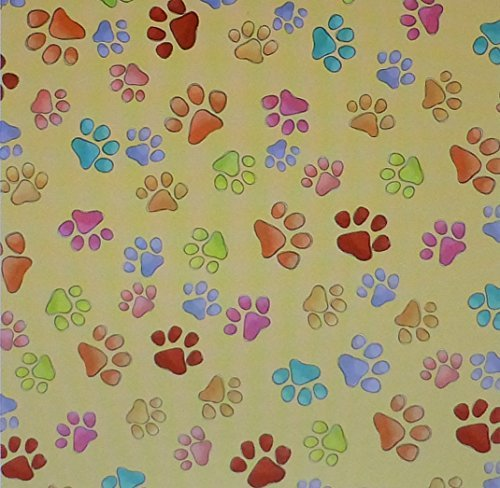 Happy Cats~Kitty Paws~Cotton Fabric by Quilting Treasures~1 and Sewing