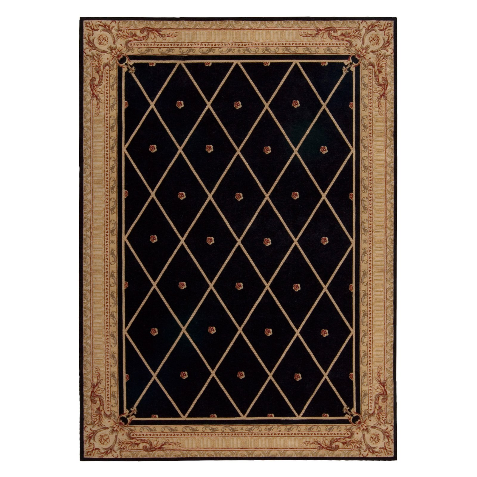 Nourison Ashton House AS03 Area Rug - Black