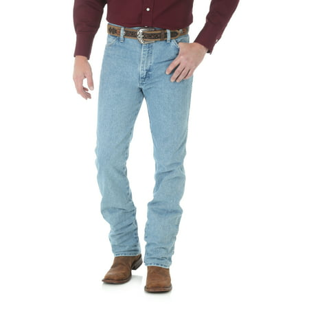 Wrangler Men's Western Cowboy Cut Slim Fit Jean - Antique
