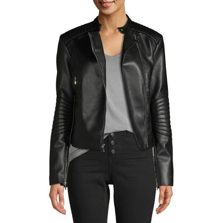Appaman Coat Sale (Kendall + Kylie Women's Faux-Leather Asymmetrical Zip)