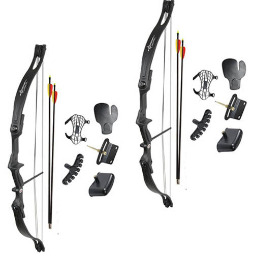 Crosman Archery Elkhorn Jr Compound Bow, 2-pack Bundle