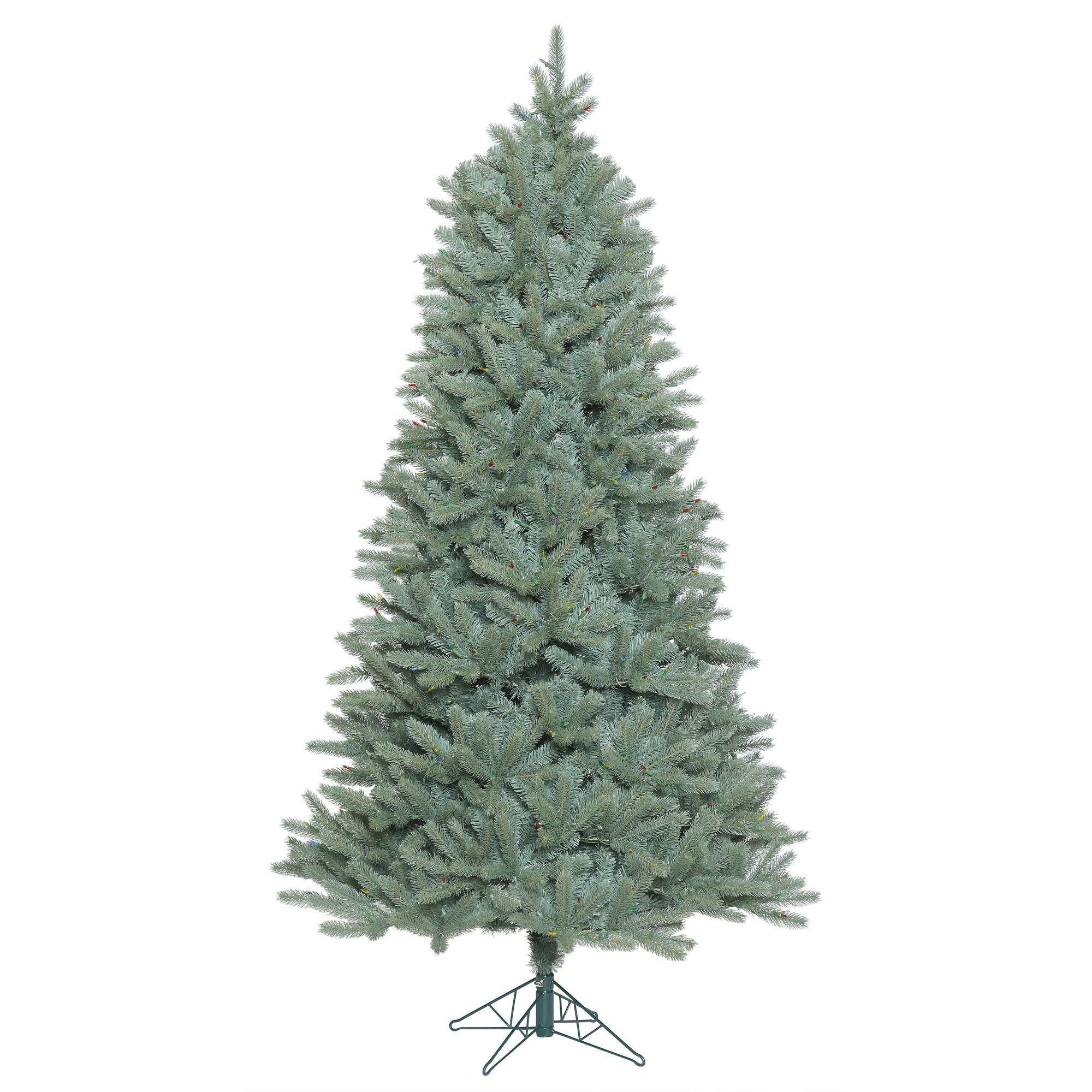 "Vickerman Artificial Christmas Tree 3.5' x 30"" Slim Color..."