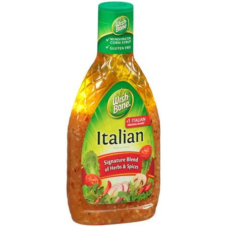 - (3 Pack) Wish-Bone Italian Dressing 15 FL Oz Bottle