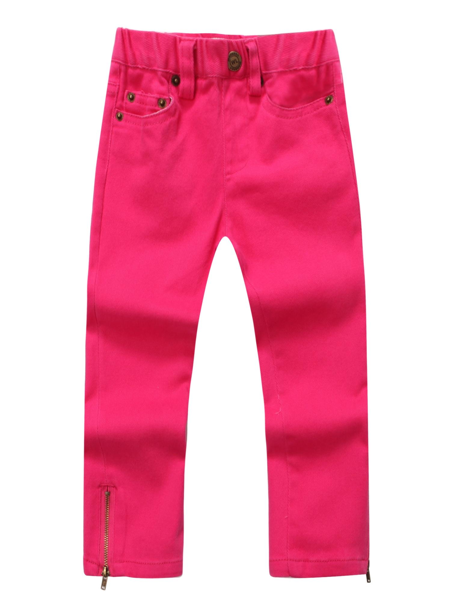 Richie House Girls' Denim Pants RH0772