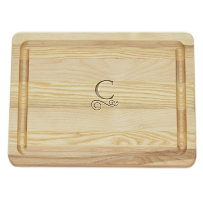 Carved Solutions Master Collection Wooden Cutting Board Small -Pi-Flourish-J