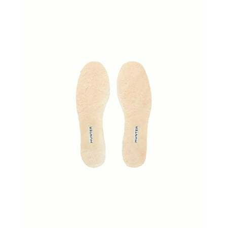 3c31899145e Hunter Women's Luxury Shearling Insoles in Natural, 11 US | Walmart ...