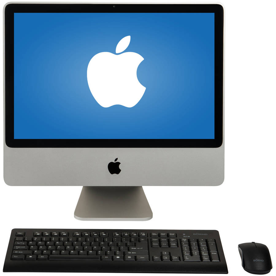 "Refurbished Apple MA876LL A All-in-One iMac with Intel Core 2 Duo Processor, 4GB Memory, 20"" Display, 250GB Hard... by Apple"