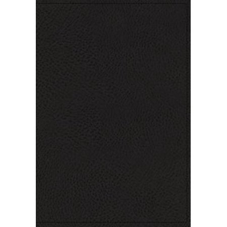 NKJV, Spirit-Filled Life Bible, Third Edition, Genuine Leather, Black Indexed, Red Letter Edition, Comfort Print : Kingdom Equipping Through the Power of the