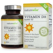 Vitamins & Supplements: NatureWise Vitamin D3