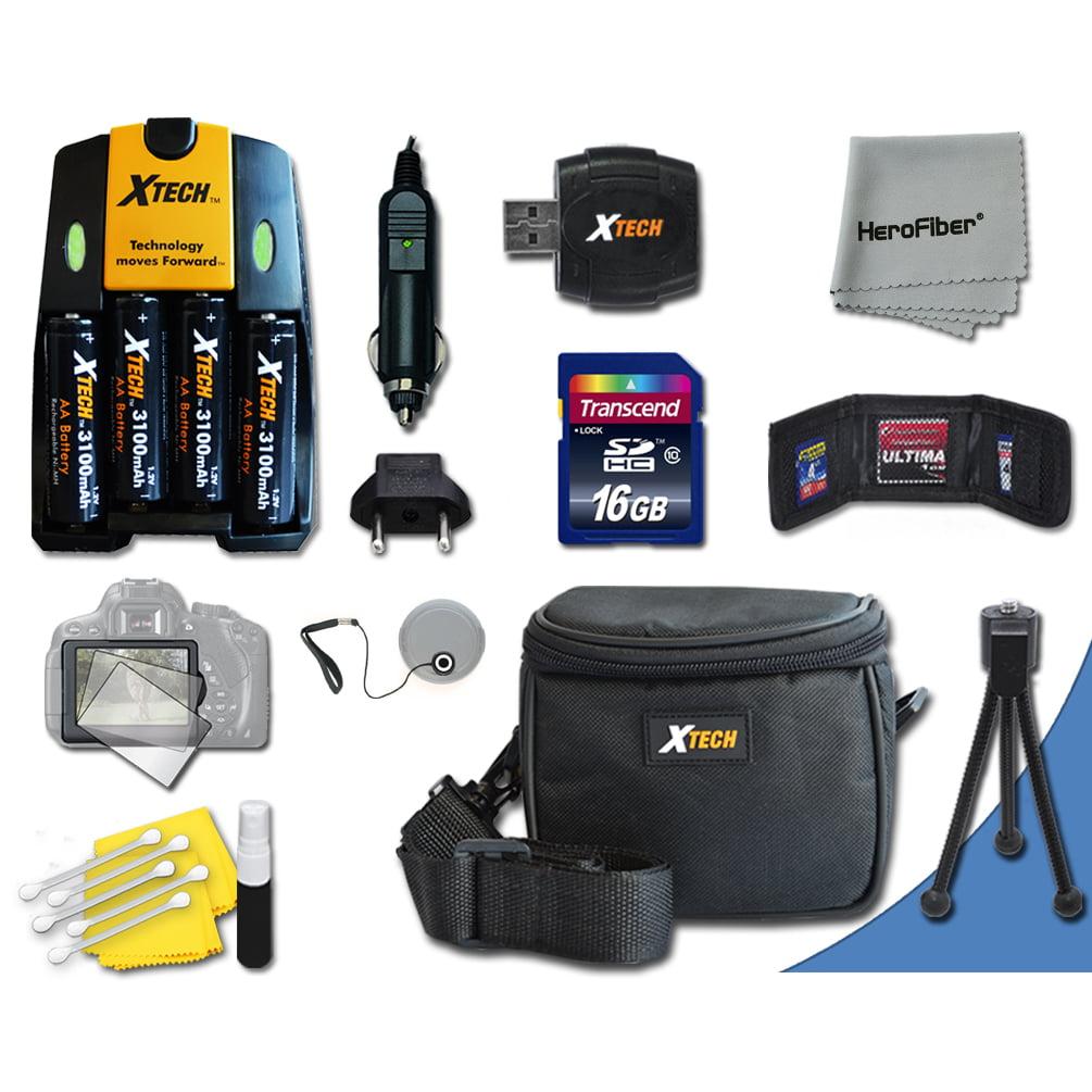 Ideal Accessory Kit for Fuji Finepix S9900W, S9800, S9400...