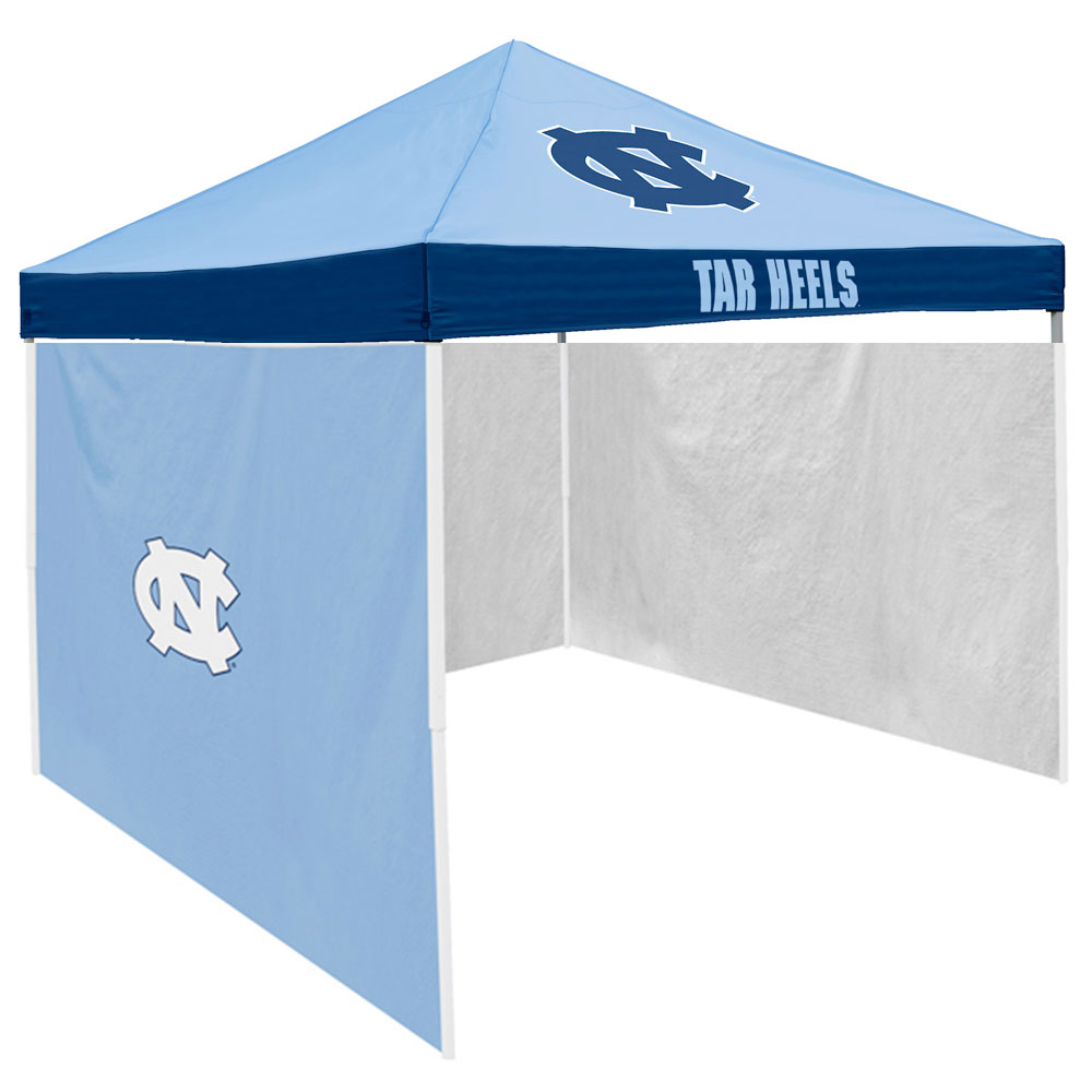 North Carolina Tar Heels NCAA 9' x 9' Economy 2 Logo Pop-Up Canopy