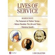 Lives Of Service: The Testament Of Mother Teresa   Nelson Mandela: The Life And Times   Mahatma Gandhi by