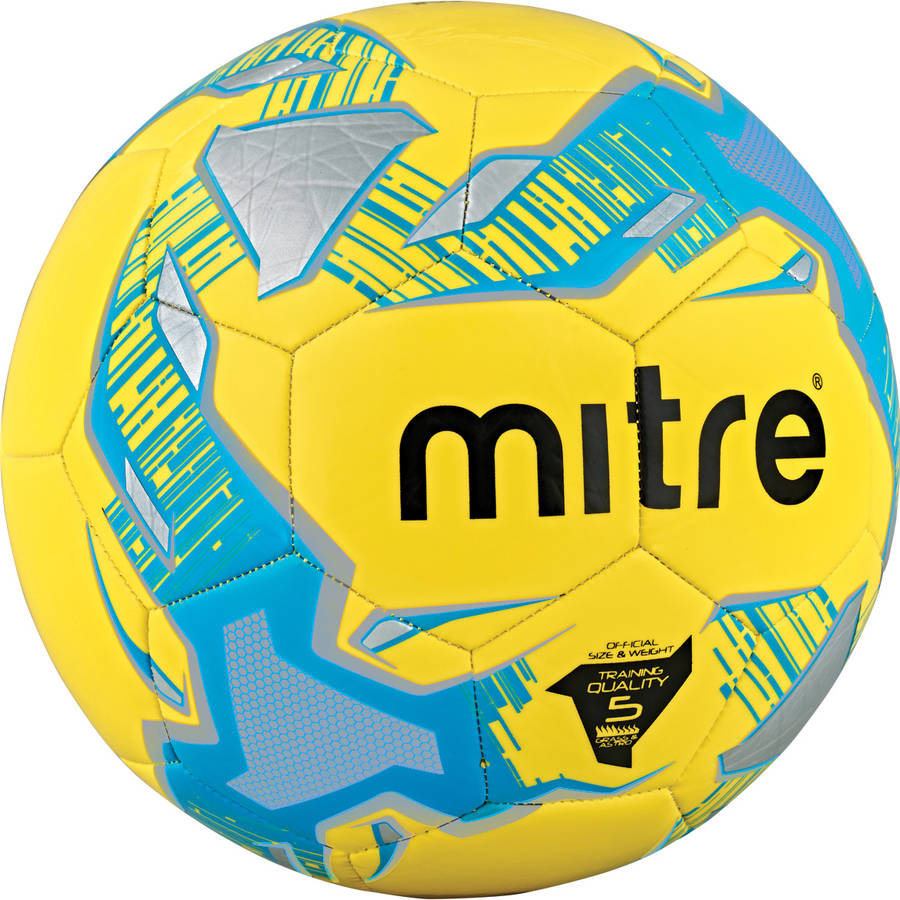 Mitre Impel Yellow Soccer Ball