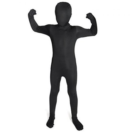 Black Original Kids Morphsuit Fancy Dress Costume - size Large 41-46