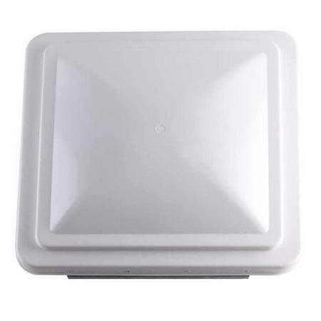 Superior Electric Rva1550w Ventilator Lid For Rv Vent    White