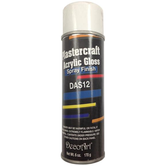 Plastercraft Acrylic Sealer/Finish Aerosol Spray 6oz-Gloss DAS12-5
