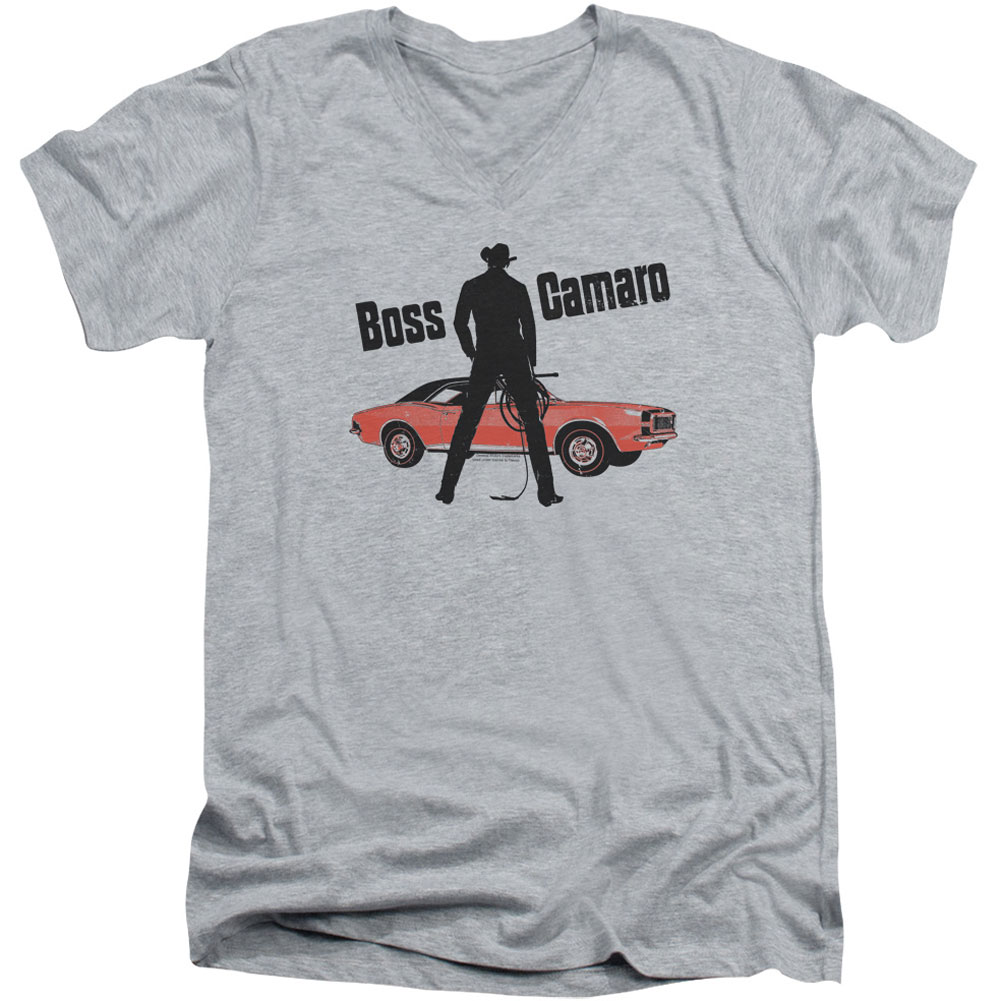 Chevy Men's  Boss Slim Fit T-shirt Athletic Heather