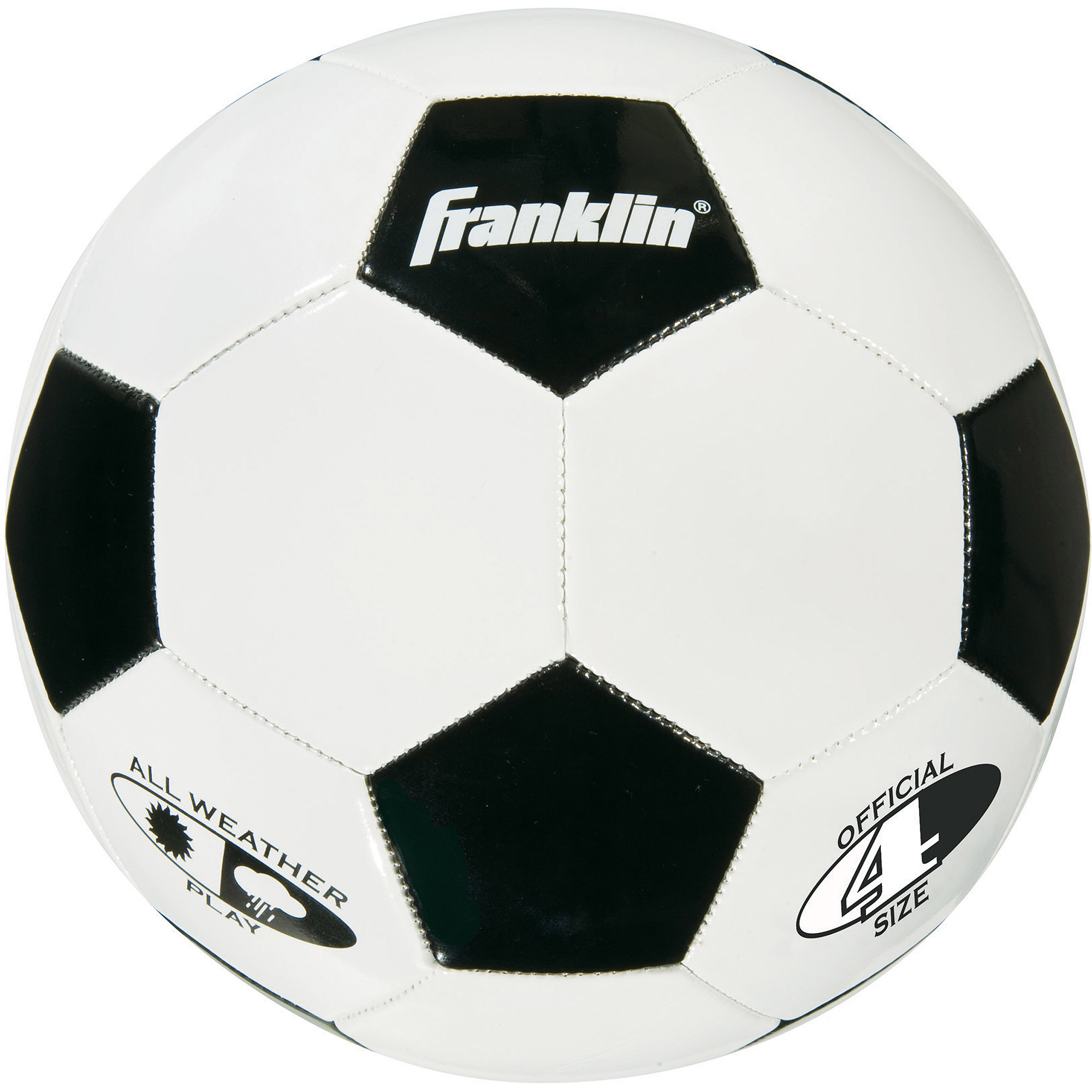 Franklin Sports Soccer Ball, Size 4