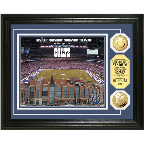 NFL Highland Mint, Gold Coin Photomint, Lucas Oil Stadium