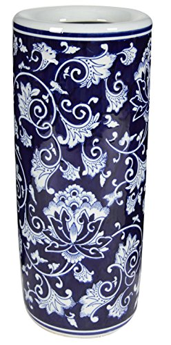A&B Home Ceramic Umbrella Stand, 8 by 18-Inch by A&B Home