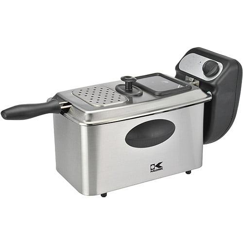 Kalorik 4-Liter Deep Fryer, Stainless Steel