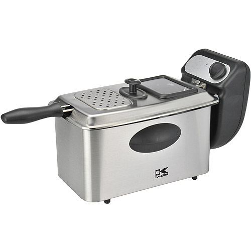 Kalorik 4-Liter Deep Fryer, Stainless Steel