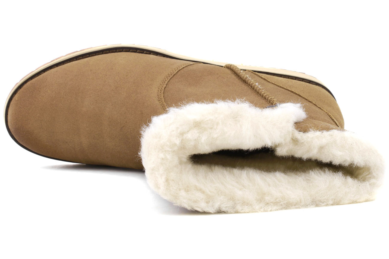 Emu Australia Beach Lo Chestnut Women Boot W11025, Size 5