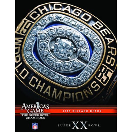 Nfl Americas Game  1985 Bears  Super Bowl Xx