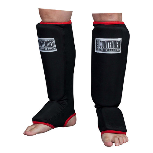 Contender Fight Sports MMA Slip-On Shin Instep Guards, Large