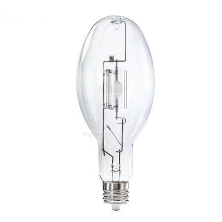 MV250/DX/ED28 250-Watt Mercury Vapor H37 Bulb E39 Mogul Clear ()