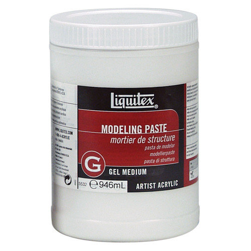 Liquitex Modeling Paste Gel Jar