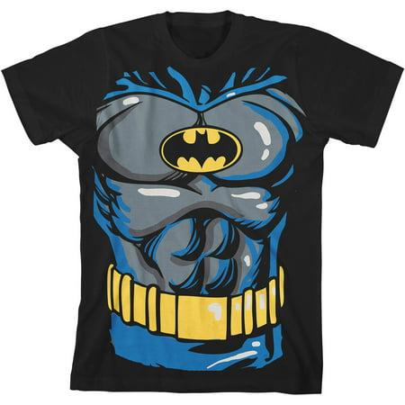 Dc Comics Batman Costume Boys Graphic Tee