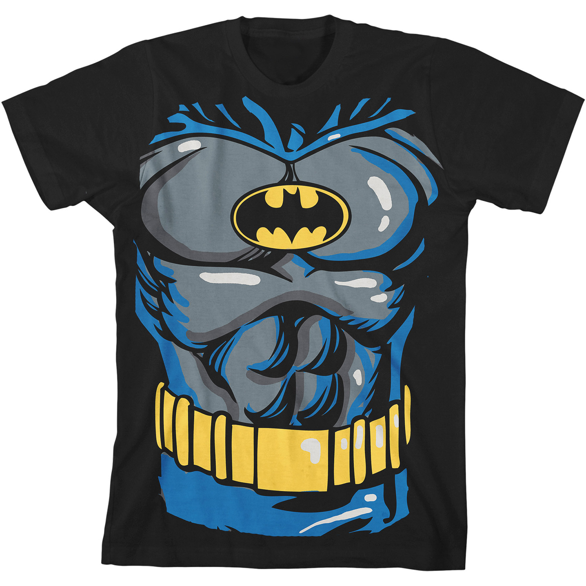 DC Comics Batman Costume Boys Graphic Tee