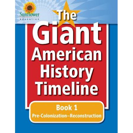 The Giant American History Timeline (Paperback) - History Of Halloween Timeline
