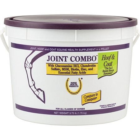 Farnam Co Horse Health-Joint Combo Hoof & Coat Supplement For Horse Joint 3.75 Pound