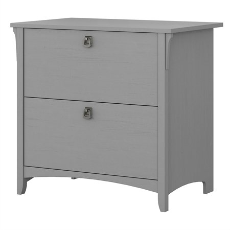 Bush Furniture Salinas Lateral File Cabinet in Cape Cod Gray Bush Furniture Office File Cabinet