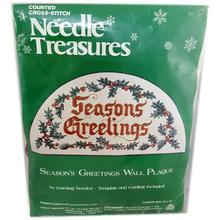Kit Needle Treasures (Needle Treasures Counted Cross Stitch