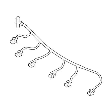 Genuine OE Mercedes-Benz Wire Harness 156-540-24-00