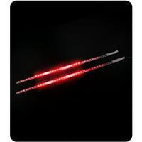 "Pilot Automotive 12"" Red Techo LED Light"