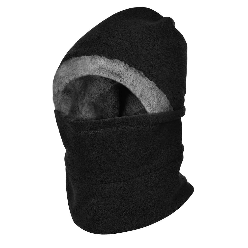 3c5c278b2a1 VBIGER - VBIGER Winter Warm Balaclavas Hat Neck Warmer Scarf Face Cover Skiing  Cap Men Women - Walmart.com