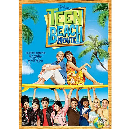 Buena Vista Teen Beach Movie  Dvd Ws Zipper Pull