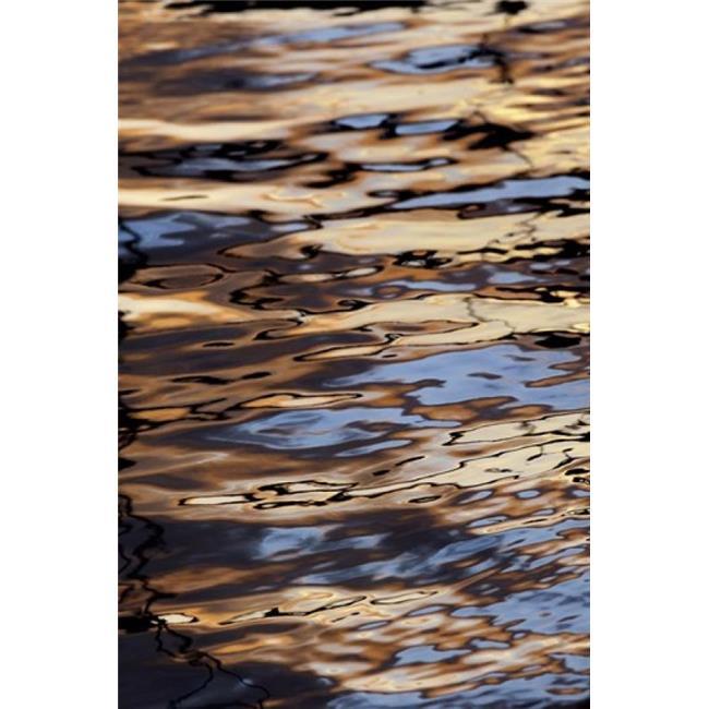 Posterazzi PDDCA11AJE0095 Abstract Sunrise Reflection on Water Havana Harbor Havana Cuba Print by Adam Jones - image 1 de 1