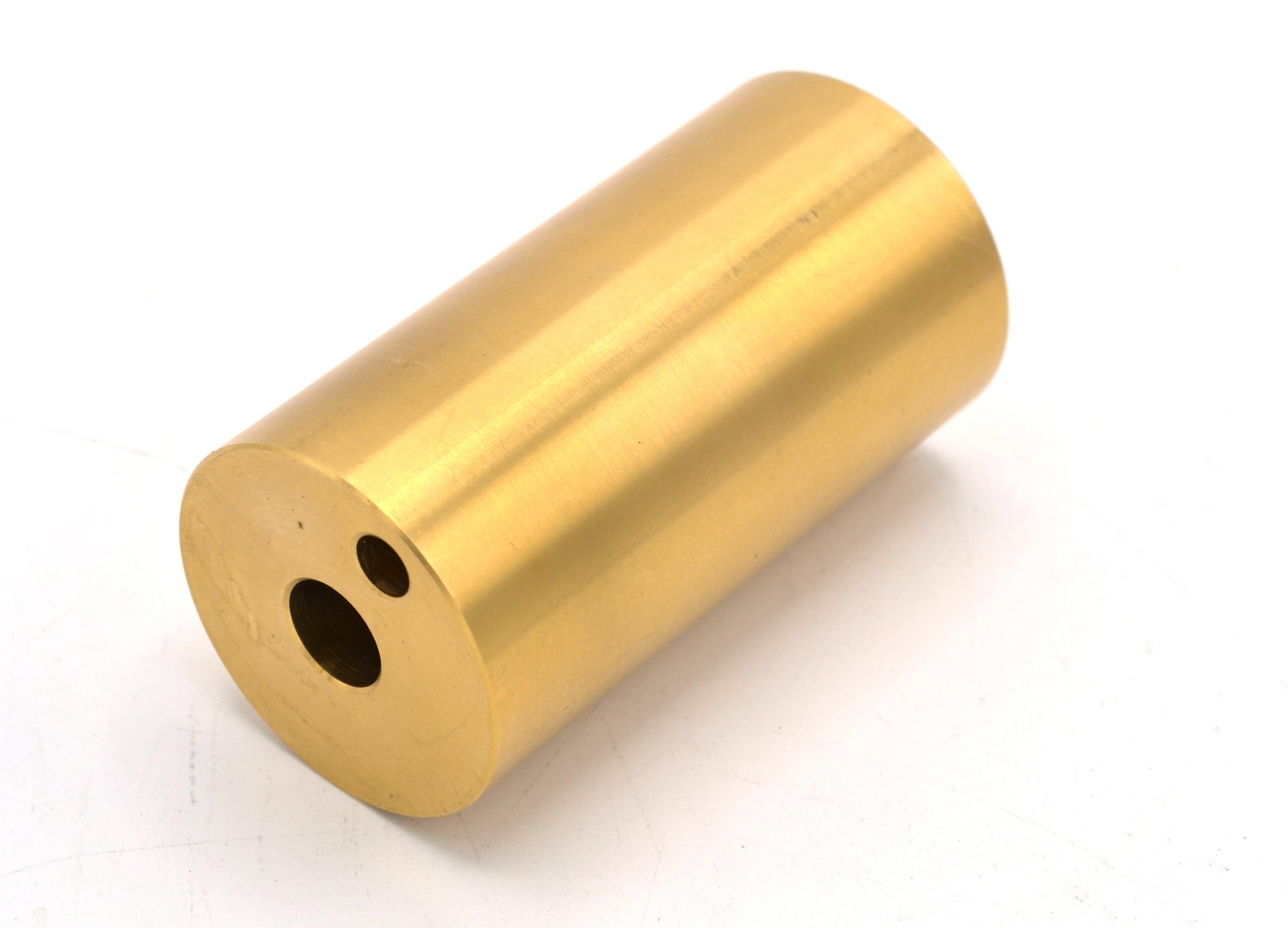 Block style Calorimeter Brass Eisco Labs by Eisco