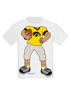 Iowa Hawkeye Heads Up! Football Infant/Toddler T-Shirt