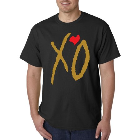 188 - Unisex T-Shirt Xo The Weeknd [Gold Letters] ()