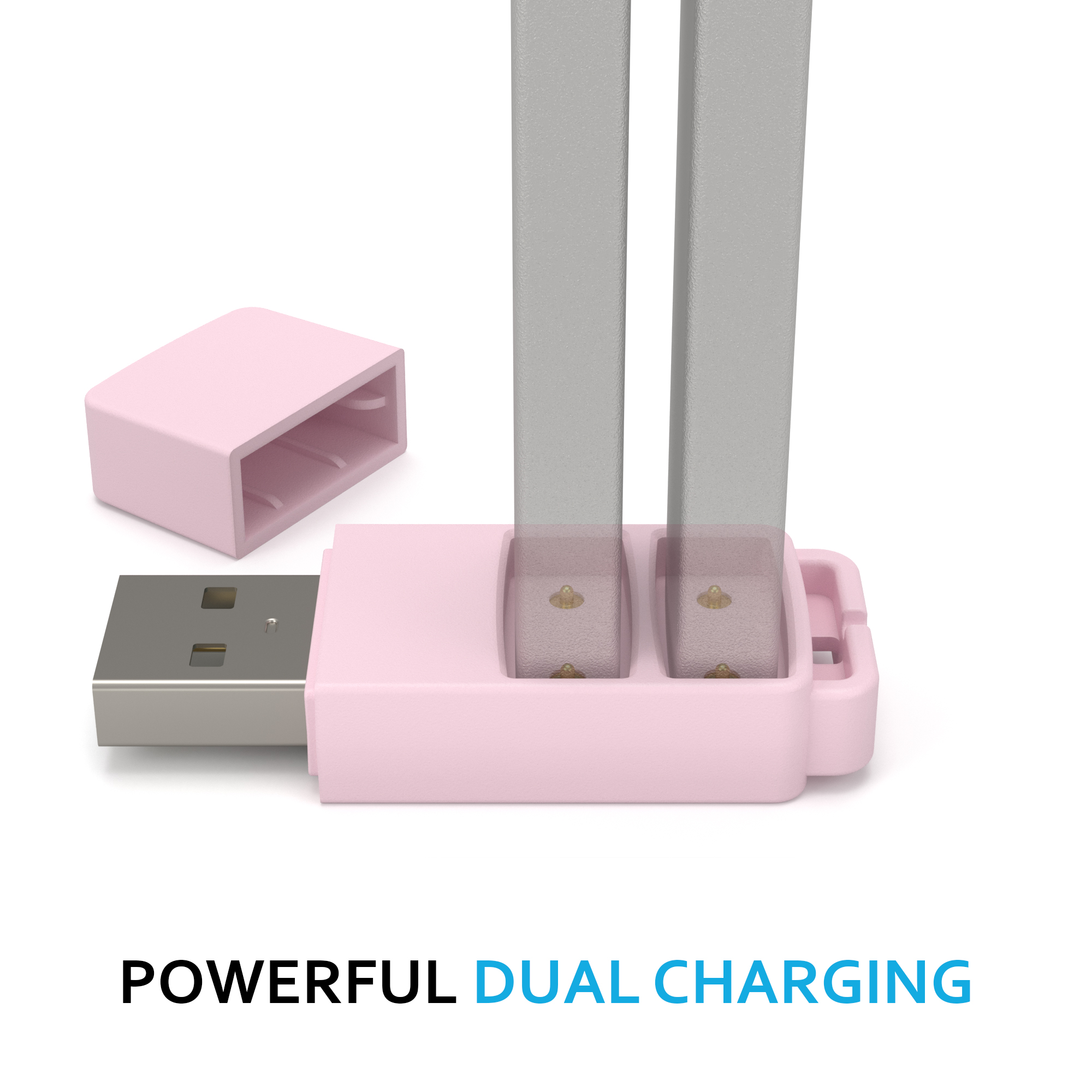 DUET Dual Charger for JUUL Battery, Charge TWO JUUL
