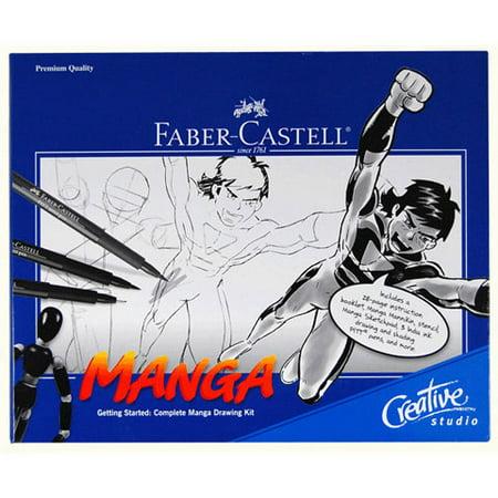 Manga Drawing Kit (Faber-Castell Getting Started Manga Comic)