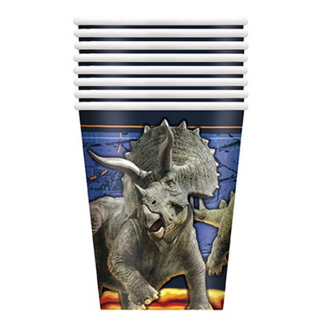 Jurassic World 2 9oz Cup (8 Count)](Party World Outlet)