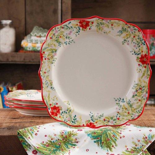 The Pioneer Woman 10.75\  Dinner Plates & The Pioneer Woman 10.75\