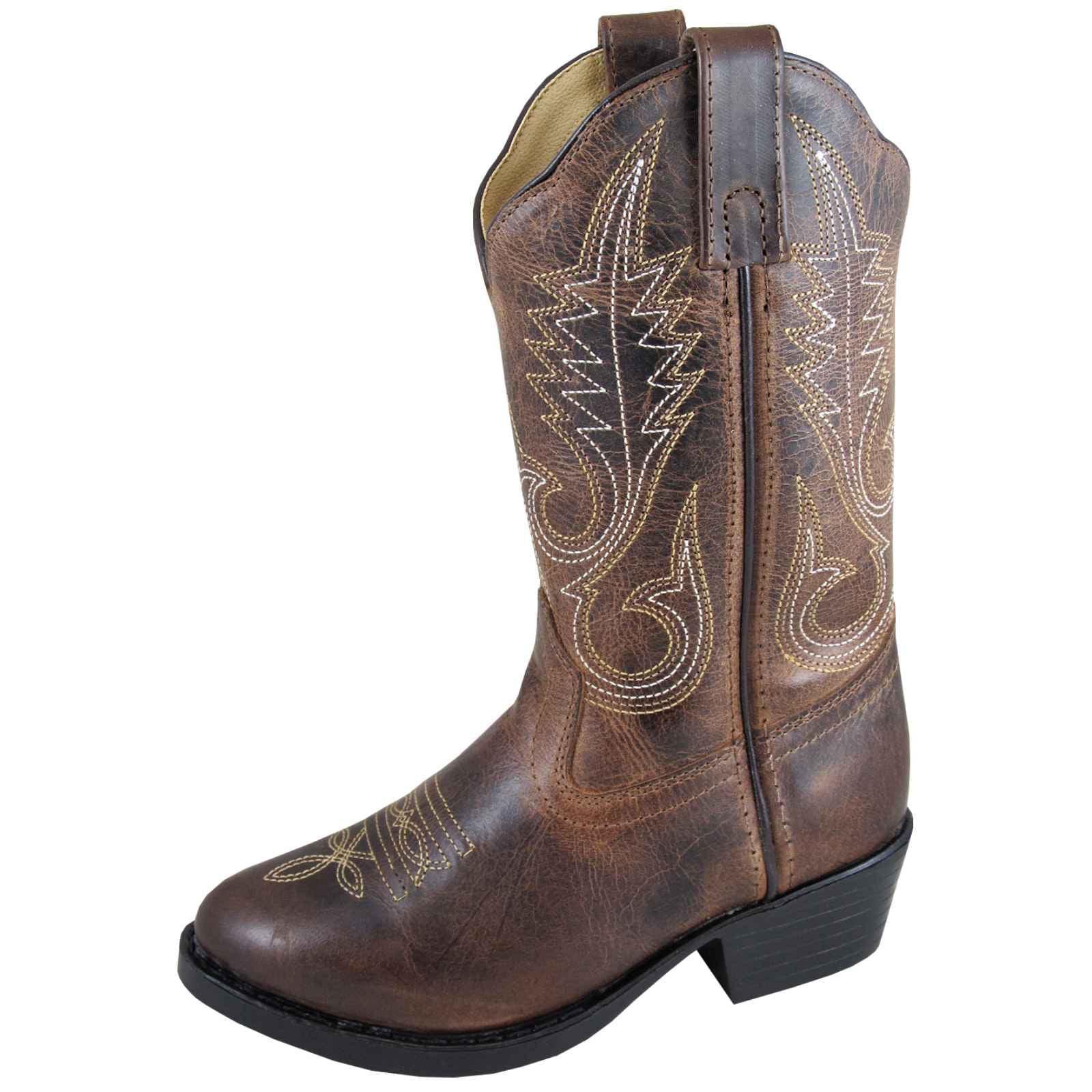 Smoky Mountain Girls' Annie Western Boot Round Toe - 3435C